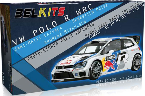 maquette belkits bel005 volkswagen polo r wrc 1 24. Black Bedroom Furniture Sets. Home Design Ideas