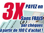 paiement 3 fois sans frais