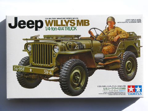 maquette jeep willys 1 35. Black Bedroom Furniture Sets. Home Design Ideas