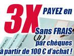 paiement 3 fois sans frais