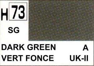 peinture MR hobby color neuf vert fonce  H-73